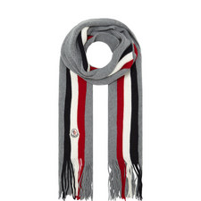 Triple Stripe Scarf