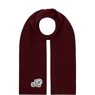 Double Badge Scarf