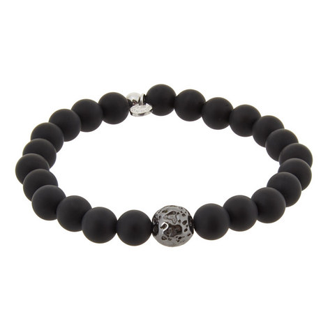 Matte Asteroid Bead Bracelet, ${color}