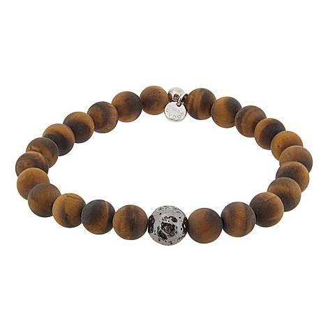 Tiger Eye Bead Bracelet, ${color}