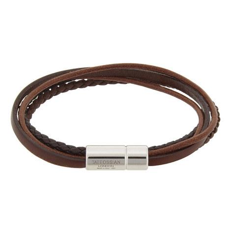 Multi-Strand Leather Bracelet, ${color}