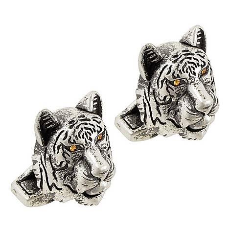 Tiger Head Cufflinks, ${color}