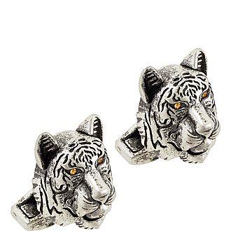Tiger Head Cufflinks