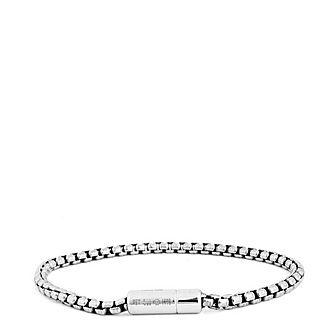 Fine Silver Clasp Bracelet