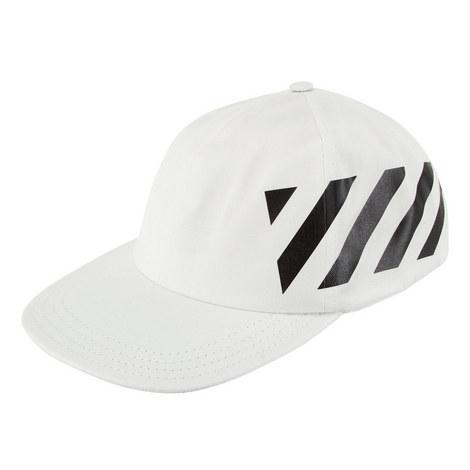 Diagonal Stripe Baseball Cap, ${color}