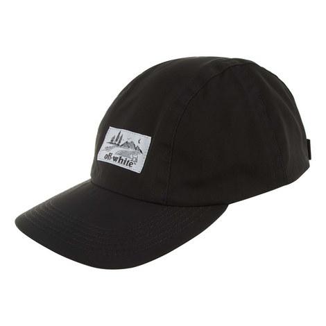 Label Logo Baseball Cap, ${color}