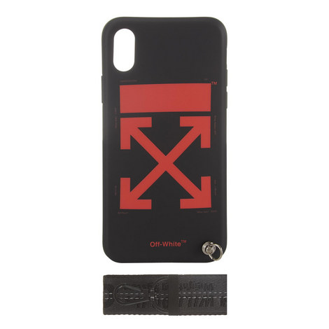 Arrow Print iPhone X Case, ${color}