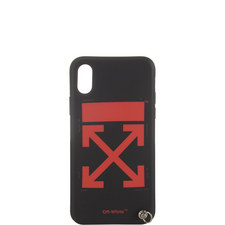 Arrow Print iPhone X Case