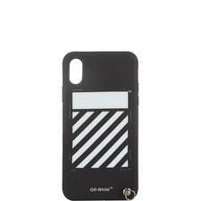 Diagonal Line iPhone X Case