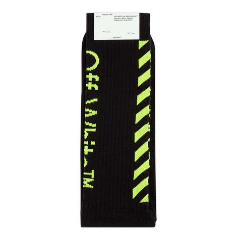 Diagonal Fluro Socks, ${color}