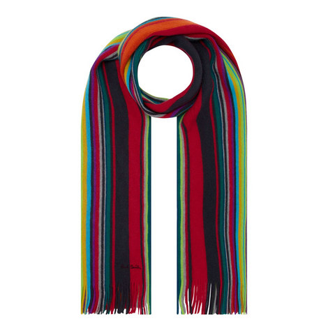 Fennel Striped Scarf, ${color}