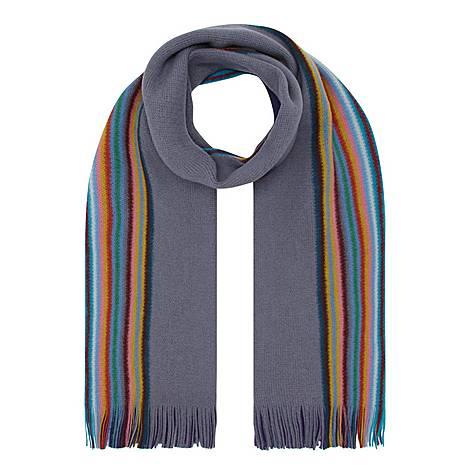 Rainbow Edge Scarf, ${color}
