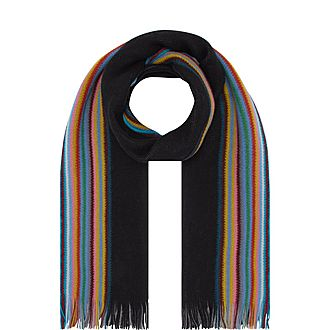 Rainbow Edge Scarf