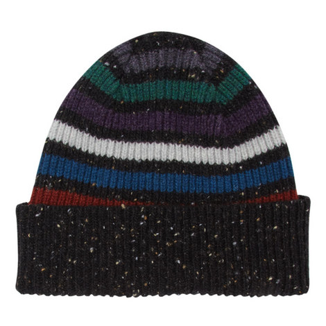 Donegal Stripe Beanie Hat, ${color}