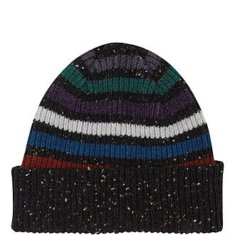 Donegal Stripe Beanie Hat