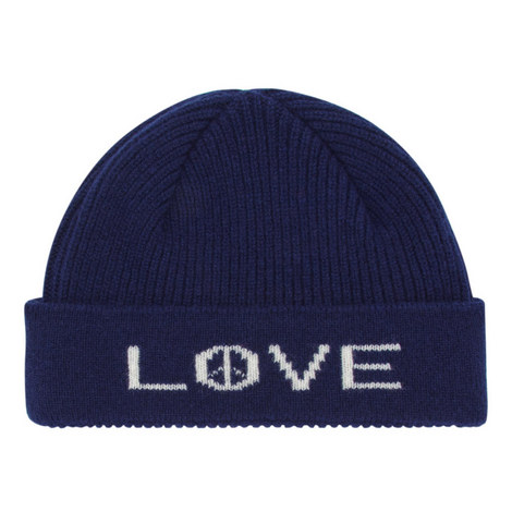 Peace Love Beanie Hat, ${color}