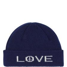 Peace Love Beanie Hat