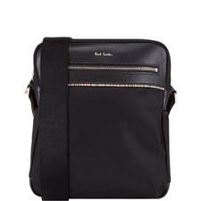 Signature Stripe Messenger Bag