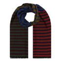 Diagonal Stripe Scarf, ${color}