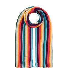 Bright Striped Scarf
