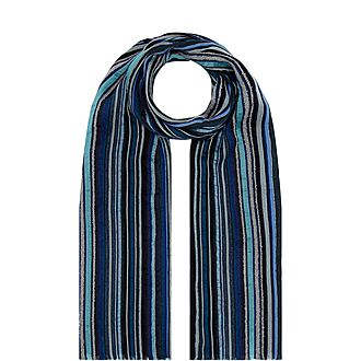 Multicoloured Stripe Scarf