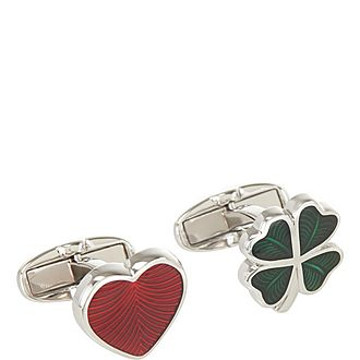 Love And Luck Cufflinks