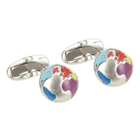 Globe Cufflinks, ${color}