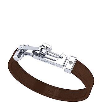 Steel Clasp Wrap Bracelet