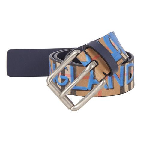 Check Graffiti Belt, ${color}