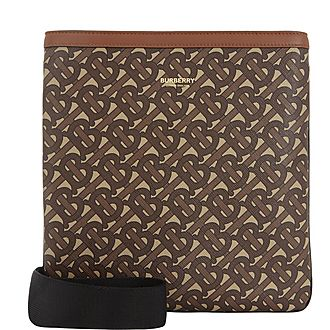 Monogram Print Crossbody Bag