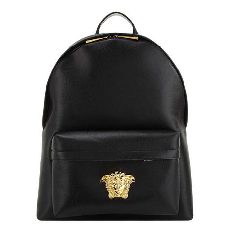 Medusa Leather Backpack, ${color}