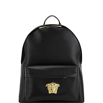 Medusa Leather Backpack