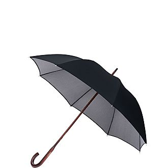 Black and White Houndstooth Umbrella