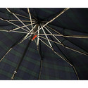 Whangee Cane Crook Tartan Umbrella, ${color}