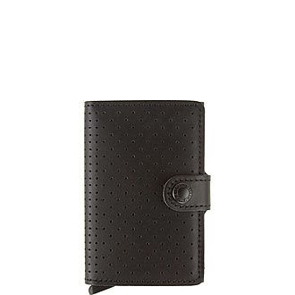 Perforated Mini Wallet