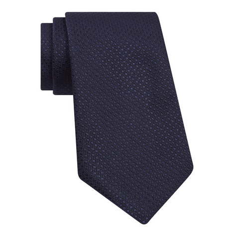 Micro Square Silk Tie, ${color}