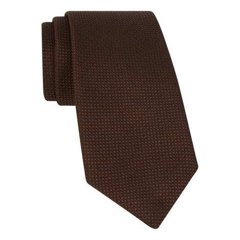 Spotted Silk Tie, ${color}