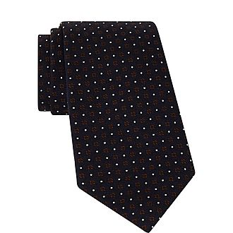 Dot and Square Tie