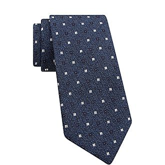 Ribbed Paisley Tie