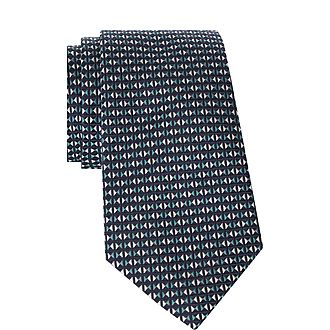 Triangular Pattern Tie