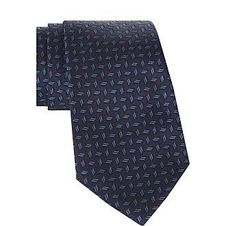 Graphic Pattern Tie