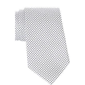 Square Print Silk Tie