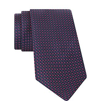 Dotted Textured Tie