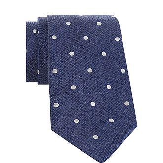 Micro Dot Tie