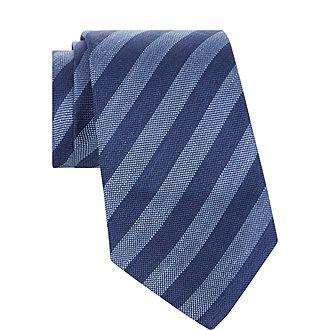 Diagonal Stripe Tie
