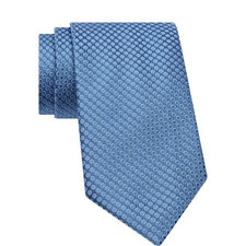 Woven Circle Pattern Tie