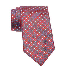 Woven Abstract Pattern Tie