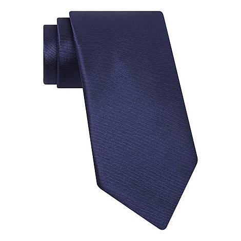 Micro Stripe Silk Tie, ${color}