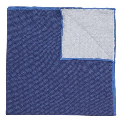 Woven Print Pocket Square, ${color}
