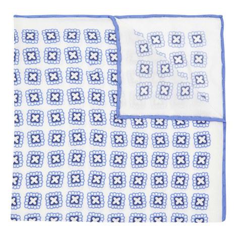 Cross Print Pocket Square , ${color}
